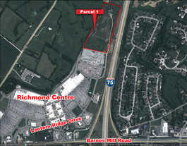 Richmond Centre Land Parcel - Parcel 1